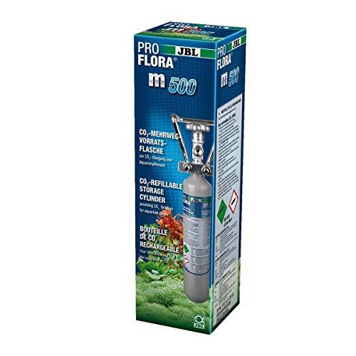 JBL ProFlora M500 Silver Bouteille Rechargeable pour Aquariophilie 500 g