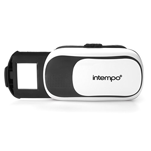 Intempo EE2224 Capture 3D Virtual Reality Headset for Smartphone, White