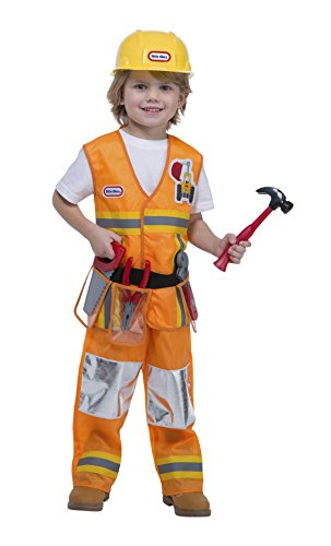 Little Tikes Construction Worker Costume, 1-2T