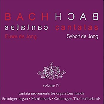Bach Cantatas, Vol. 4: Cantata Movements for Organ Four Hands