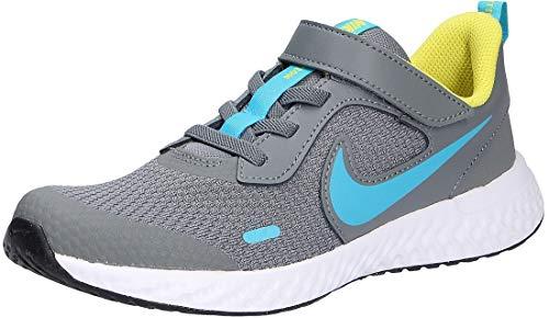 Nike Revolution 5 PSV BQ5672019 - Zapatillas deportivas para niños, color gris, color Gris, talla 33.5 EU