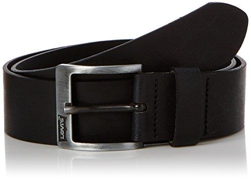 Levi's Herren Core Basic Classic Gürtel, Schwarz (Black), 110 cm (Herstellergröße: 110)