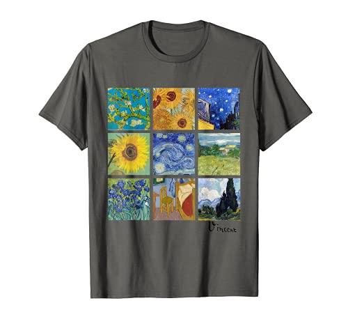 Dipinti di Van Gogh, Girasoli, Notte stellata Maglietta