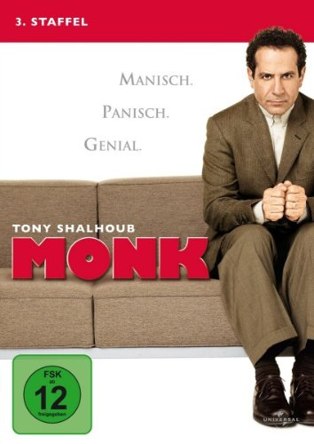 Monk - 3. Staffel [4 DVDs]