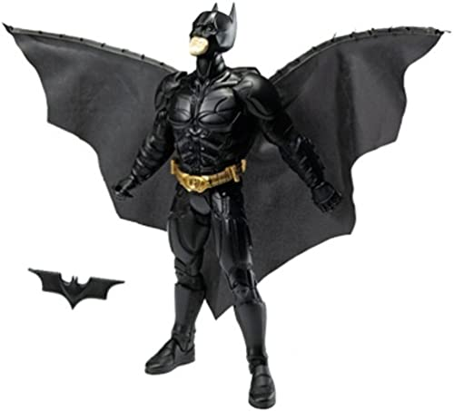 DC - Batman - The Dark Knight - Movie Action Figur 14   ca.35cm - ACTION CAPE BATMAN - Instant Reveal Cape - OVP