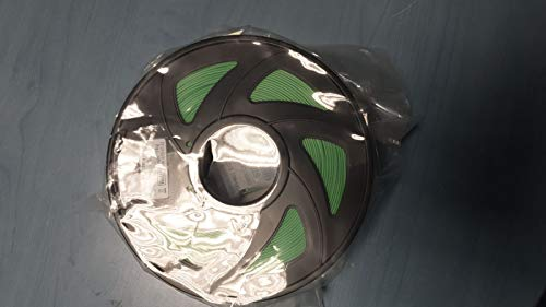 3d printer Filament 1.75mm Green PLA - 1kg Spool (1.24kg with packaging)