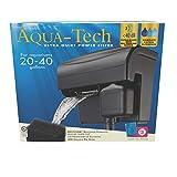 AQUA-TECH Ultra Quiet Power Filter, for Aquariums 20-40 Gallons