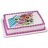 Deco Powerpuff Girls Edible Picture Cake Topper