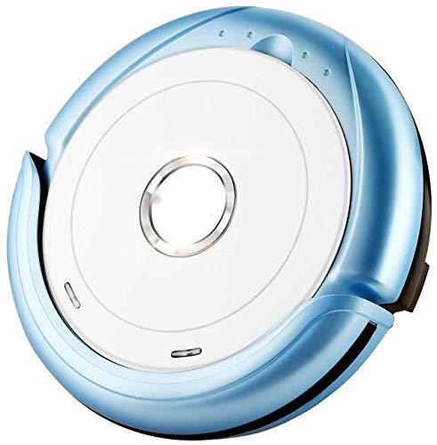 Robot Nettoyeur de balayage Le nettoyeur automatique Robot Aspirateur sol maison balayage intelligent Wipe une machine, Bleu KaiKai (Color : Blue)
