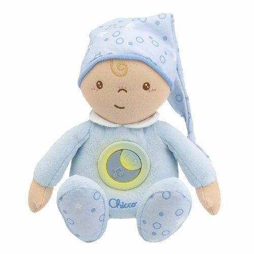 Chicco 2428200000 Câlinou First Dreams - Muñeco de peluche, color azul