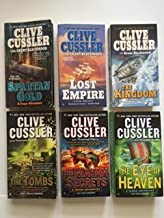 Cussler (Set of 6) Spartan Gold; Lost Empire; Kingdom; Tombs; Mayan Secrets; Eye of Heaven