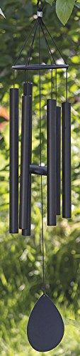 Homestyle & more Carillon Harmony en aluminium Noir H90 cm