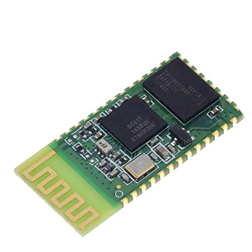 Tivivose HC-05 HC 05 HC-06 HC 06 RF Wireless Bluetooth Transceiver Slave-Modul RS232 / TTL bis UART-Konverter und Adapter für for Arduino (Color : HC 06 Chip)