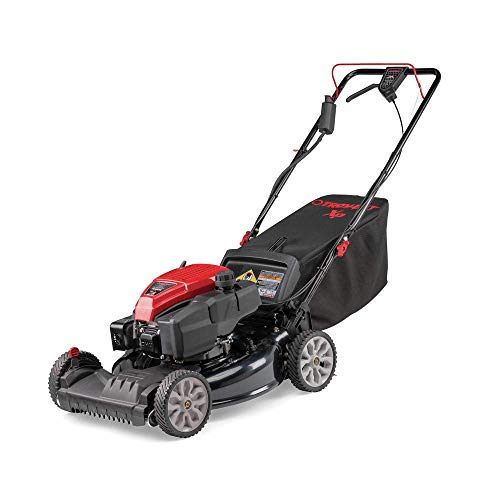 Troy-Bilt 12AGA2MT766 21 in. Self-Propelled 3-in-1 Front Wheel Drive Walk-Behind Lawn Mower with 159cc OHV E-Start Check Engine