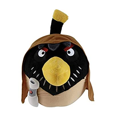 """Official Angry Birds Star Wars 8"""" Plush Toy From Series 2 - Obi-Wan Kenobi"""