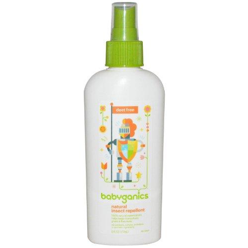 Babyganics Natural Insect Repellent, 6 oz, Packaging May Vary