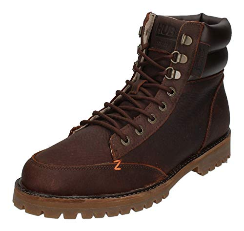 Hub Footwear Boots Belfast L30 Hiking - Dark Brown, Größe:46 EU