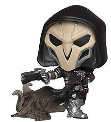 Alta 9cm ed inserita all'interno di una scatola trasparente da collezione Pop vinyl Reaper (wraith) Games: overwatch s5