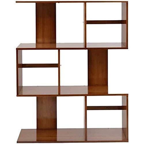 Bookcasas de la sala de estar estantería, estante Pantalla Rack Wood Wood Muebles de acento, Librería de madera Bookshelf S Forma 3 Niños Estantes gratis Estanterías de almacenamiento Pantalla de alma