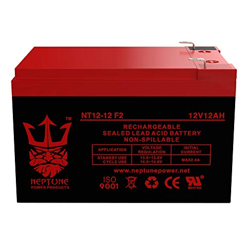 Neptune 12V 12Ah NT-12120 Rechargeable SLA Sealed Lead Acid Battery