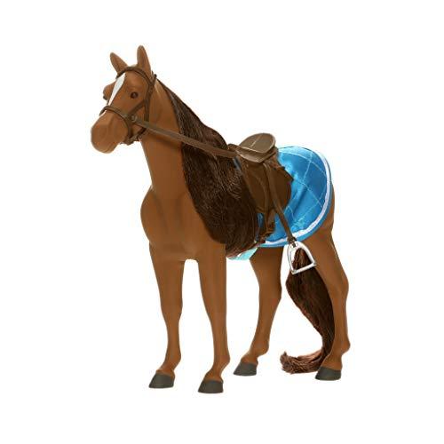 Lottie Pferd für Puppe LT078 Sirius The Welsh Mountain Pony Spielzeugpferd - Puppen Zubehör Kleidung Puppenhaus Spieleset - Zubehör Kleidung Puppenhaus Spieleset - ab 3 Jahren