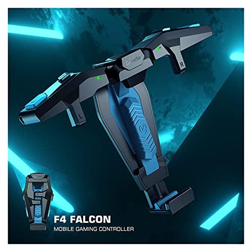 UJETML Controladores F4 Falcon Mobile Gaming Controller Gamepad Plug and Play para iPhone/Android Cero Latency para Call of Duty Controladores de conmutación