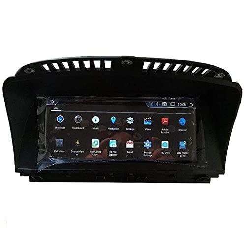 HYCy Máquina integrada de navegación con DVD Android 10.0 Video de inversión de Pantalla Grande Qualcomm 1280 * 480 Pantalla IPS de 4 núcleos 2 + 32G Compatible con BMW Serie 7 E65 E66
