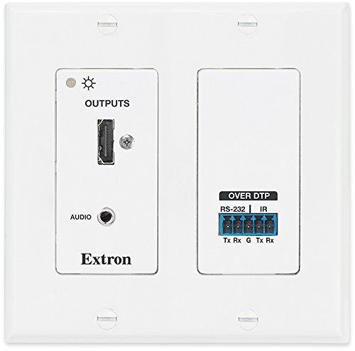 Extron DTP HDMI 230 D Rx HDMI Twisted Pair Extender Decora Wallplate