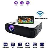 SOTEFE® WiFi Proiettori 1080P Full HD - Bluetooth Videoproiettore Portatile Supporto 4K S...