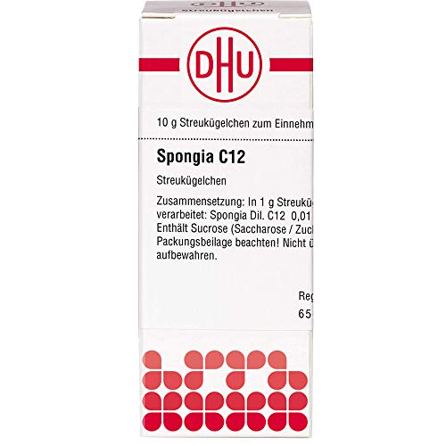 DHU Spongia C12 Streukügelchen, 10 g Globuli
