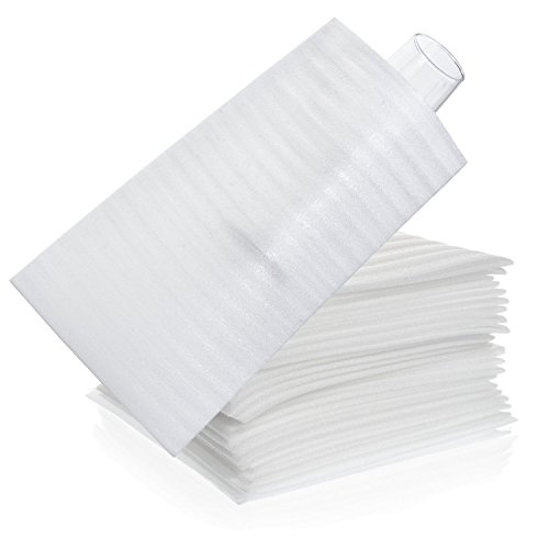 Premium Foam Packing Sheets (50 Count,7 x11 7/8 inches) Cushion Foam Wrap Sheets, Moving Supplies for Dishes, Glasses and Furniture, Packing Cushioning Supplies, Soft and Durable Ultimate Protection