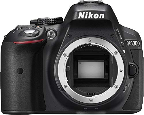 Nikon D5300 DX-Format 24.2 MP Digital SLR Camera Body - (Renewed)