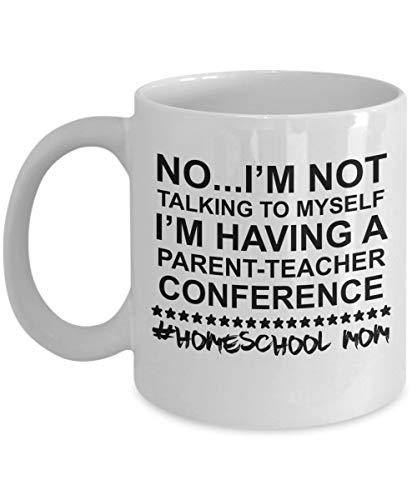 N\A Homeschool Mom Mug-Geschenke für Homeschooling Mütter-Homeschool Mom Kaffeebecher-Geschenk-Homeschool Mom Life