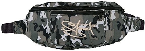 2Stoned Hüfttasche Bauchtasche Retro mit Stick Classic Logo in Ice Camo für Herren und Jungen