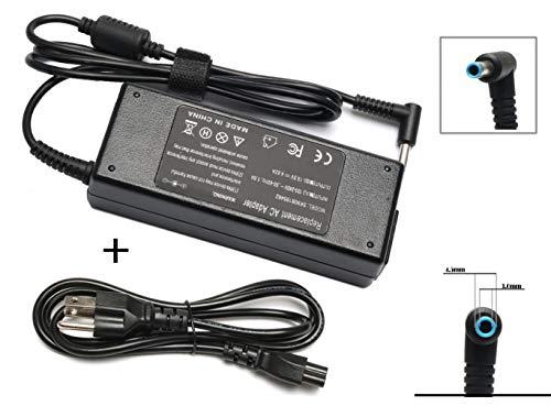 ROLADA 90W AC Adapter Laptop Charger for HP Envy Touchsmart Sleekbook 15 17 M6 M7 Series; HP Pavilion 11 14 15 17, HP Stream 11 13 14, HP Elitebook Folio 1040, HP Spectre X360 13 15 Power Supply Cord