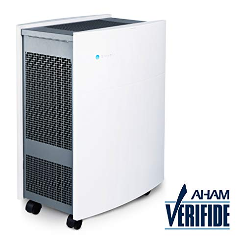 Blueair Classic 605 Air Purifier, True HEPA Performance by HEPASilent Filtration for Allergen,...