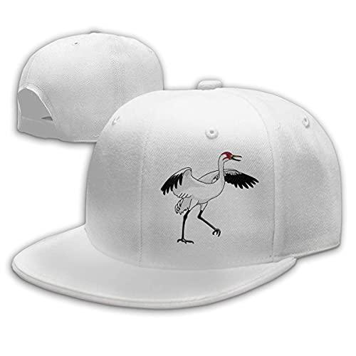 Snapback Cap Crane Bird Stand Up Geburtstagsgeschenk Hip Hop Hüte Neuheit Papa Hut Trucker Hut Baseball Cap Verstellbarer Druck Gemütliche Sonnencreme Sommer Verstellbare Frauen Wi