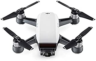 DJI Spark Portable Mini Drone Alpine White (Renewed) (Standard Unit)