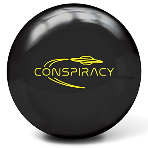 Radical Bowling Products Conspiracy Bowling Ball- 16Lbs, Black,...