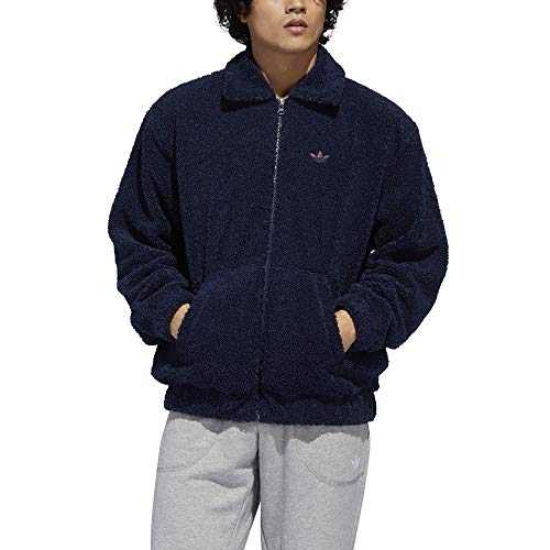 adidas Fleece TT Chaqueta, Hombre, Conavy/Leggld/Minred, Extra-Large