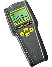 Digitale Pinless Niet-invasieve Inductieve Vochtmeter Hard Zacht Hout Gipsplaten Metselwerk Scanner Tricolor Bar Grafiek Indicator Intelligente Hout Board Nat Droog Tester Traders Craftsmen DIY