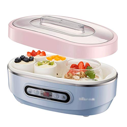 Fantastic Prices! BMMMZ Mini Household Yogurt Machine, Automatic Multifunctional Natto Machine Ceram...