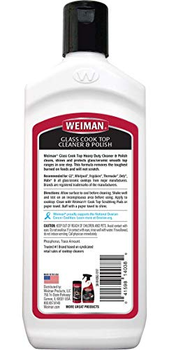 Weiman Cooktop cleaner Kit