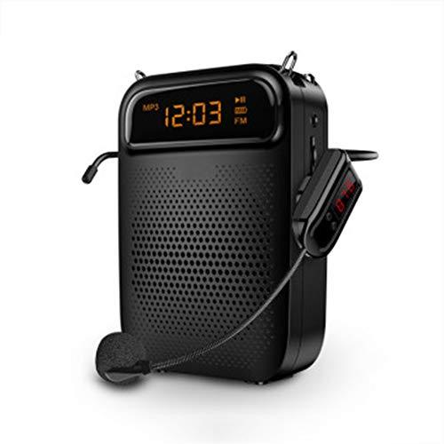 Mini-stemversterker, beweegbare draadloze megafon geschikt voor leerkrachten Tour Guide Promotion microfoon luidspreker