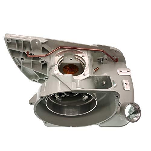 Conjunto de cárter con cojinete y Tapa del Tanque de Combustible para STIHL 070 090 Motosierra Reemplaza # 1106 020 2506