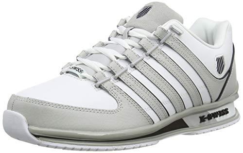 K-Swiss Herren Rinzler SP Sneaker, Weiß (White/Vapor Blue/Black 194), 43 EU