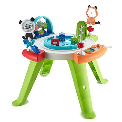 Fisher-Price Mon premier siège d'activités bébé 3-en-1, transformable en table de jeux avec jouets, de 6 mois aux premiers pas, GGC60