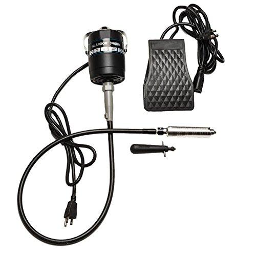 Glardon-Vallorbe Flex Shaft #30 Pedal de mano y pie 1/8 HP 20.000 RPM 115 V
