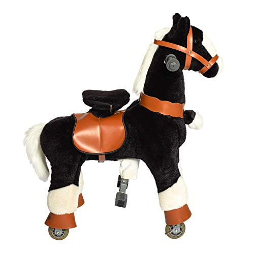 Galoppo Spielpferd mit Rollen für Kinder ab 2 Jahren in der Größe Small – XXL Reitpferd zum Reiten und Spielen im Haus und auf der Straße
