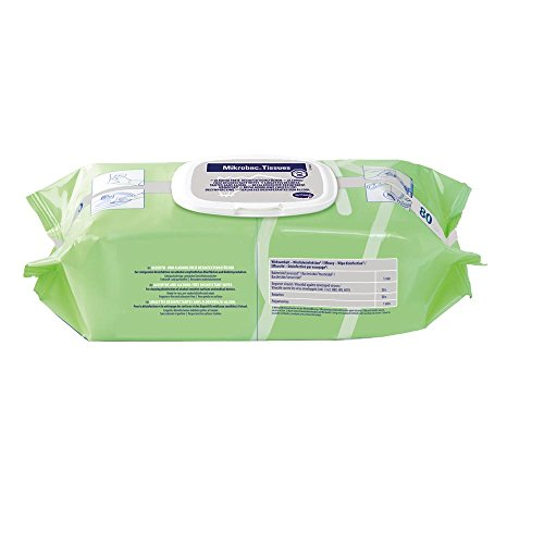 Mikrobac Tissues, Flow Pack mit 80 Tüchern